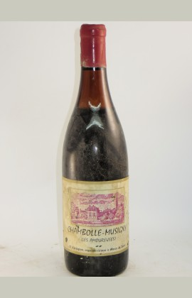 Chambolle Musigny 1er Cru Amoureuses, Chevignot, 1962