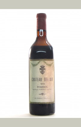 Bel Air, Pomerol, 1970