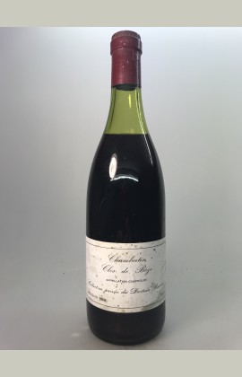 Chambertin Clos de Bèze, Grand Cru, Collection Dr Barolet, 1969