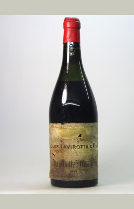 Chambolle Musigny, Domaine Lavirotte, 1949