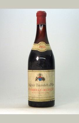 Chambolle Musigny, A. Barolet, 1954
