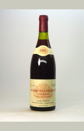 Chambolle Musigny 1er Cru Charmes, Domaine Clerget, 1982