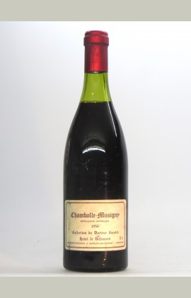 Chambolle Musigny, Collection Dr Barolet, 1954