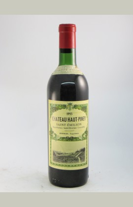 Haut Piney, St Emilion, 1953