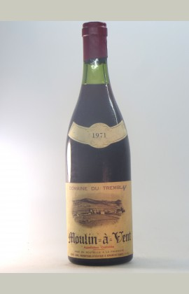 Moulin-à-Vent, Domaine Tremblay, 1971