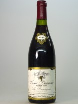 Vosne Romanée 1er Cru Beaumonts,  Lucien Jayer ( made by Henri Jayer ), 1992