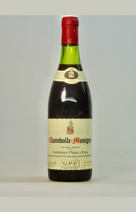 Chambolle Musigny, Domaine Grivelet, 1973